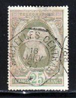 Belgique Telegraphe 1889 Yvert 10a (o) B Oblitere(s) - Télégraphes