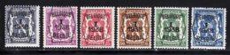 Belgique Preo 1938 COB 333 / 338 ** TB - Préoblitérés