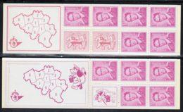 Belgique Carnet 1969 Yvert 1484 / 1485 ** TB - Carnets 1953-....
