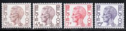 Belgique Service 1971 Yvert 64 / 67 ** TB - Service