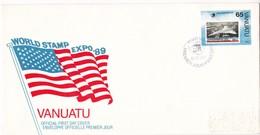 VANATU. FDC 1989 PORT VILA WORLD STAMP EXPO '89. - BLEUP - Vanuatu (1980-...)