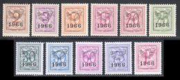 Belgique Preo 1966 COB 769 / 779 ** TB - Préoblitérés