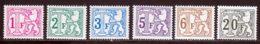 Belgique Taxe 1966 Yvert 66 / 71 ** TB - Taxes