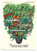 Carte Parfumée  - LA CORBEILLE ROYALE, Paris, Bruxelles - TBE - Antiquariat (bis 1960)