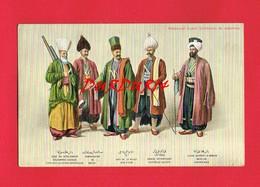 TURQUIE ... MEDJMOUAI TECAVIR Collection De Costumes N° 124 + Pub Maison PIPERNO Rue Du Bac Paris Tapis - Turquie