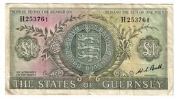Guernsey 1 Pound 1969 - Guernesey
