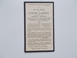 Oud Bidprentje: Leonie LASSEEL Echtg. Constant MARTENS, Nazareth 30/4/1867 - 5/8/1934 - Décès