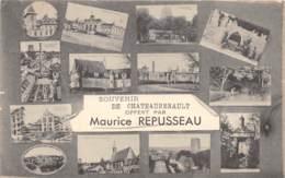 37 - Indre Et Loire / 10119 - Chateaurenault - Belle Carte Souvenir - France