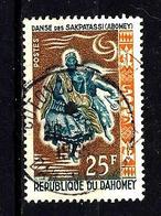 DAHOMEY 209° 25f Ocre, Brun Et Bleu-gris Danses Folkloriques Danse De Sakpatassi (10% De La Cote + 015) - Benin - Dahomey (1960-...)