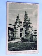 C.P.A. : Exposition 1931 Pavillon Des PAYS-BAS : L'ILE De BALI (côté Nord) Porte - Indonésie