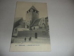 Dendermonde :termonde L'église Saint-gilles - Dendermonde