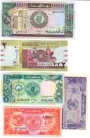 Sudan (North) Lot 5 UNC Banknotes - Soudan