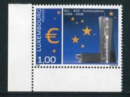 "Timbres** De 2008 Du LUXEMBOURG ""10 Ans Eurosystème"" - Luxembourg"