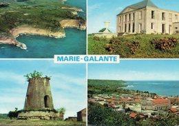 Guadeloupe Marie-Galante DOM TOM Belle Multi-vues Château Murat Ruine Du Moulin Capesterre - Guadeloupe