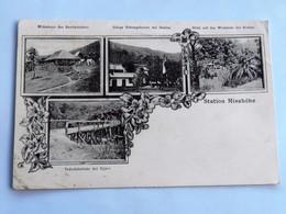 C.P.A. : GHANA, GOLD COAST : Station MISAHOHE, Wohnhaus Des Bezirksleiters, Einige Nebengebäude, ...stamp 1906 - Ghana - Gold Coast