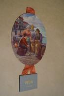 Chocolat L'Aiglon,RARE Très Bel état,calendrier Originale 1936,hauteur Complet 35 Cm - Chocolat