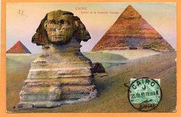 Cairo Egypt 1911 Postcard Mailed - Cairo