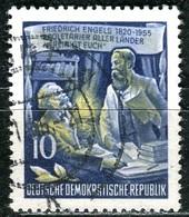 A12-49-6) DDR - Mi 486 A - OO Gestempelt (A) - 10Pf          Friedrich Engels - [6] Democratic Republic