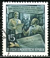 A12-49-8) DDR - Mi 487 A - OO Gestempelt (A) - 15Pf          Friedrich Engels - [6] Democratic Republic