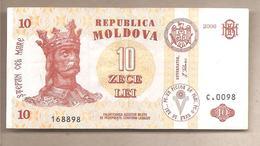 Moldavia - Banconota Circolata Da 10 Leu P-10e - 2006 - Moldavie