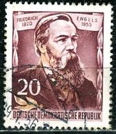 A12-49-9) DDR - Mi 488 A - OO Gestempelt (A) - 20Pf          Friedrich Engels - [6] Democratic Republic
