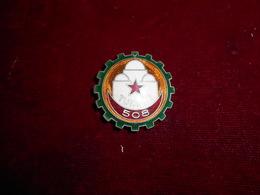 INSIGNE 508 RGT CIE TRAIN TUNISIE FAB DPNICE OM - Armée De Terre