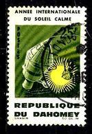 DAHOMEY 216° 25f Polychrome Année Internationale Du Soleil Calme. (10% De La Cote + 015) - Benin - Dahomey (1960-...)