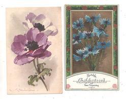 Fleurs 2 Cartes-(C.8288) - Fleurs