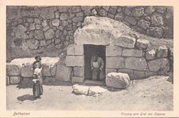 ALTE  AK   BETHANIEN / Palästina  - Eingang Grab Des Lazarus - 1920 Ca. - Palestine