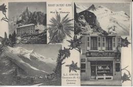 74 CHAMONIX MONT BLANC NOUGAT DU MONT BLANC AU MIEL DE CHAMONIX L J SIMOND  ET CHOMERAC EN ARDECHE - Chamonix-Mont-Blanc