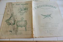 L'Illustration 5 Avril 1919-Exil Des Habsbourg-Massacre Des Arméniens En Syrie Alep -Conseil De Guerre Procès-Sois - Newspapers