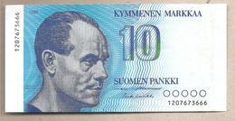 Finlandia - Banconota Circolata Da 10 Markka P-113a.15  - 1986 - Finland