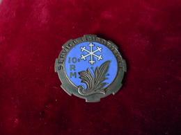 INSIGNE SERVICE FRIGORIFIQUE 10 RM FAB DP - Armée De Terre
