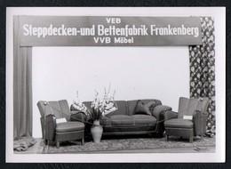 C0321 - Foto - Frankenberg VEB Steppdecken Und Bettenfabriken VVB Möbel - Fotografie