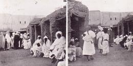 ALTE   AK   MARRAKECH / Marokko  - Slave Market / Sklaven Markt -  1905 Gelaufen - Marrakesh