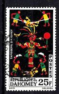 DAHOMEY 219° 25f Noir, Vert, Rouge Et Jaune Tapisseries. (10% De La Cote + 015) - Bénin – Dahomey (1960-...)