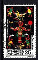 DAHOMEY 219° 25f Noir, Vert, Rouge Et Jaune Tapisseries. (10% De La Cote + 015) - Benin - Dahomey (1960-...)