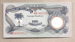 Biafra - Banconota Non Circolata FdS Da 5 Scellini P-3a - 1968 - Nigeria