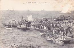 ALTE   AK   CASABLANCA / Marokko  - Arrivie Du Courrier -  1905 Ca. Gelaufen - Casablanca
