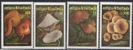 1986 ANTIGUA 931-34** Champignons - Antigua Et Barbuda (1981-...)