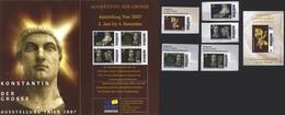 Deutschland TV-Briefservice 'Konstantin Der Große' / Germany 'Constantine The Great' **/MNH 2007 - Königshäuser, Adel