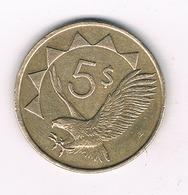 5 DOLLAR 1993 NAMIBIE /8553/ - Namibie