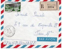 LSC 1960 - Recommandé KROUBS Et Cachet KROUBS - CONSTANTINE  & Timbres - Algeria (1924-1962)