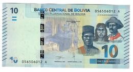 Bolivia 10 Bolivianos 2018 UNC - Bolivia
