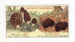 Chromo  AIGUEBELLE   Bons Et Mauvais Champignons    Morilles   Truffes - Aiguebelle