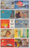 France. 16 Télécartes 1992 - France