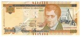 Honduras 100 Lempiras 2014 UNC - Honduras