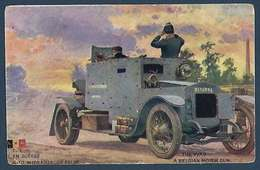 LVC - En Guerre - Auto-mitrailleuse Belge - Guerre 1914-18