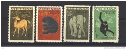 01044  -   Nord Viet-Nam  :   Yv   216-19  (*) - Viêt-Nam