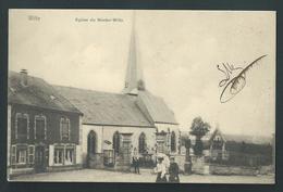 Wiltz. Luxembourg. L'Eglise De Nieder-Wiltz. Belle Carte Animée.  Nels, Série 15, N°16.  Rare. Voyagée - 2 Scans. - Wiltz